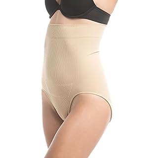 UpSpring Baby C-Panty Culotte Haute récupération cesarienne de Tour de Taille et de sous-vêtements Minceur avec cesarienne Cicatrice guérison (Grand/x-Grand, Beige) por Post cesarienne