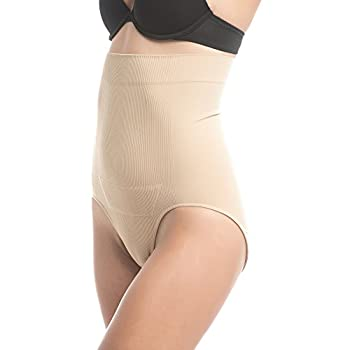 c2bcef73f0 UpSpring Baby C-Panty High Waist C-Section Recovery   Slimming Underwear  with C-Section Scar Healing L XL Nude