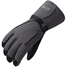 MCTi Guantes Esquí Invierno Impermeable Snowboard Nieve Ciclismo Térmica Thinsulate Hombre Mujer