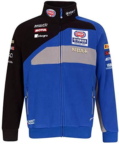 Yamaha Racing Pata Rizla Team Fleece Jacke WorldSBK, Größe: M - Fleece Großen T-shirt