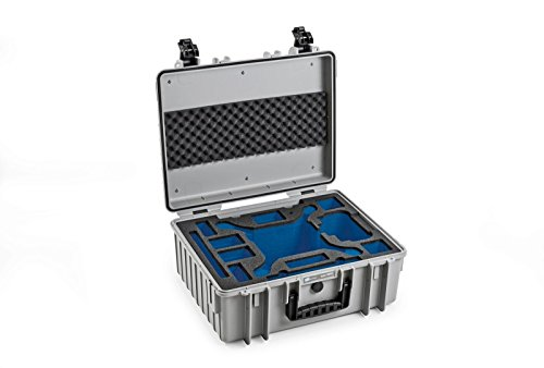 B&W outdoor.cases Typ 6000 mit DJI Phantom 4 Pro / 4 Pro+ / 4 Advanced Inlay - Das Original ***Limited Edition*** -