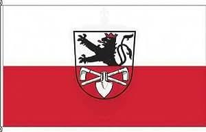 Königsbanner Hochformatflagge Thundorf iUFr - 120 x 300cm - Flagge und Fahne