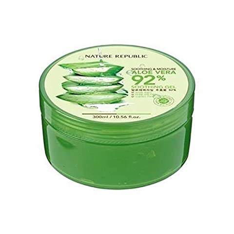 Nature Republic THE Best Soothing & Moisture Aloe Vera 92% Soothing Gel 300ml