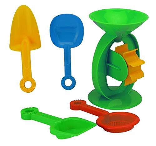 CBK-MS. Strand Sand Wasser Spielzeug Wassermühle Schaufel Sieb Sandkasten Sandspielzeug
