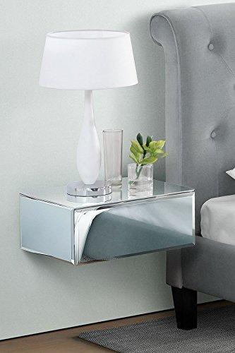 MY-Furniture – INGA – Mesilla de noche/Consola/Estante flotante con cajon para almacenar