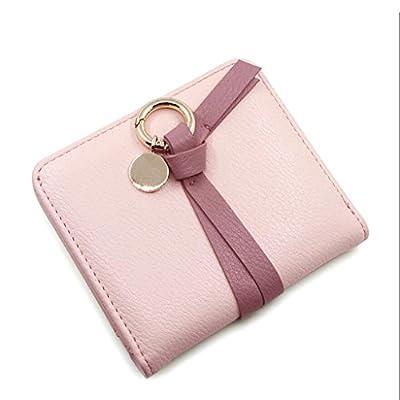 ZLR Mme portefeuille Lady Small Wallet New Section Mesdames Petit pochette pliable Mini Portefeuille