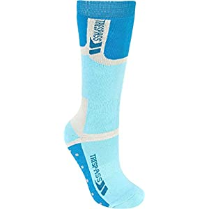 Trespass Eton Kids Multi Sports Socks – Socken, Kinder, türkis (Turquoise)
