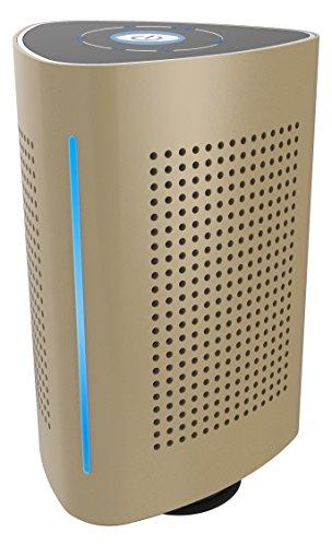 Tragbarer Bluetooth Lautsprecher Speaker BSV-1136-G Vibrationslautsprecher Bass Vibrations-Resonanz-Lautsprecher 36W mit Bluetooth 4.0 + EDR und NFC für Smartphone und Mp3 Player bis zu 3 Std. | Metallic-Gold