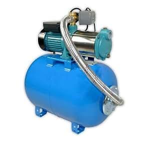 Pompe d'arrosage POMPE DE JARDIN pour puits 1300W 100L/min avec ballon surpresseur 50L