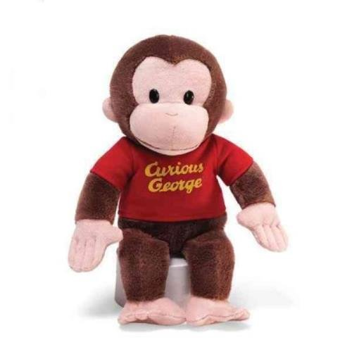 "Image of Curious George 12"" Red Shirt"