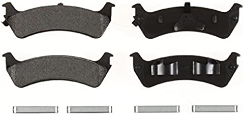 1Set (4x Brake pads rear for Ford Explorer & Explorer Sport Trac) and Mercury Mountaineer Models from