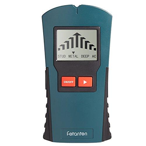 Fetanten 4 in 1 Multifunktions Wand Scanner detektor , Elektrische StudSensor Ortungsgerät für Metall, Rohre,Stromleitung, AC Spannungsführenden Leitungen, Holz , Deep , Sound Warnung