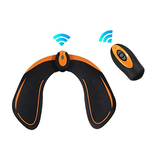 YYHSND Elektrischer Hüfttrainer Muskelstimulator Unisex USB-Ladegerät für Hüftübungs-Krafttrainingsgeräte Bauchmuskel Paste