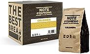 Note D'Espresso Colombia Miscela di Caffè Torrefatto, Macinato - 1 kg (4 x 25