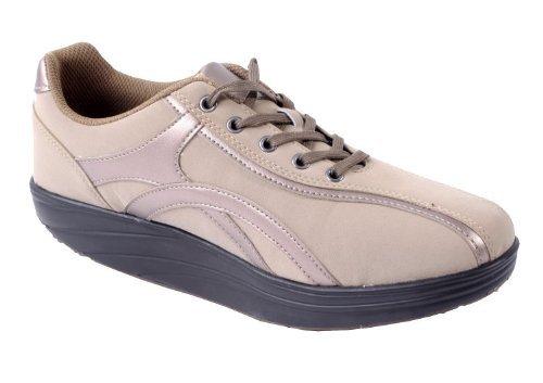 Aktiv Outdoor Schuhe Gr. 40 Fitnesschuhe Sneaker Gesundheitsschuhe beige