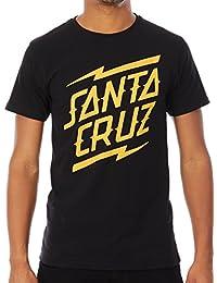 santa_cruz T-Shirt – Bolt Stack Black