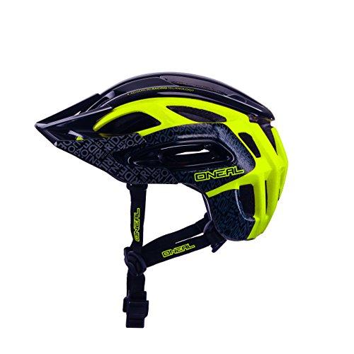 O'Neal Orbiter II Fahrrad-Helm, Schwarz/Neongelb, XL/XXL (61–64cm)