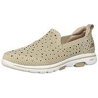 SKECHERS Go Walk 5, Women's Shoes, Brown (Taupe), 39 EU