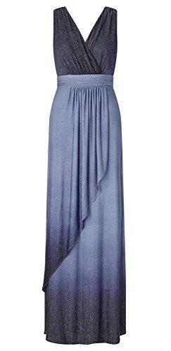 Ravanna Ombre Lurex Maxi Dress