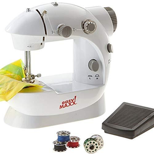 TrAdE shop Traesio Mini máquina Coser Grapadora portátil