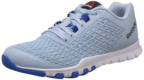 Reebok Women's Everchill Train Blue, Dark Blue and White Multisport Training Shoes – 4 UK 41cWA0Z hHL