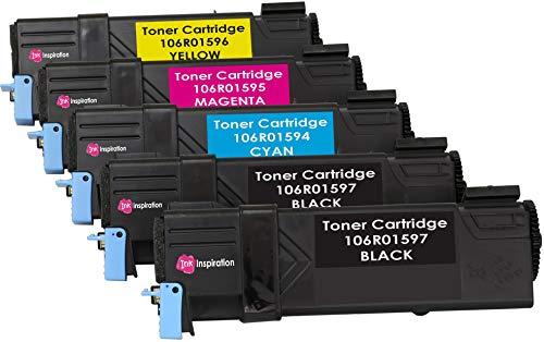 r kompatibel für Xerox Phaser 6500DN, 6500N, WorkCentre 6505DN, 6505N | Schwarz 3.000 Seiten & Color je 2.500 Seiten ()