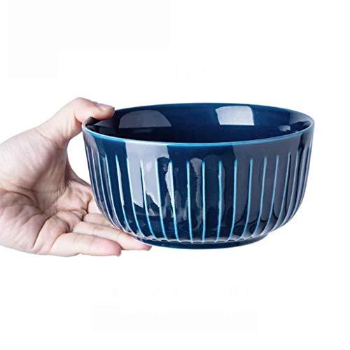 Suppenschüssel, Haushalt Einfarbig 4,5 Zoll Europäische Retro Keramikschale Reisschüssel Brei Schüssel für Home Kitchen Restaurant Geschirr Obst Snack Bowl Dessertschüssel -