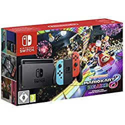 Nintendo Switch - Mario Kart 8 Deluxe Bundle