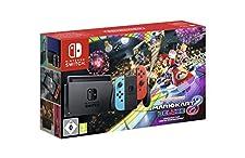 Nintendo Switch - Consola + Mario Kart 8 Deluxe Bundle (Código Descarga) - Edición limitada
