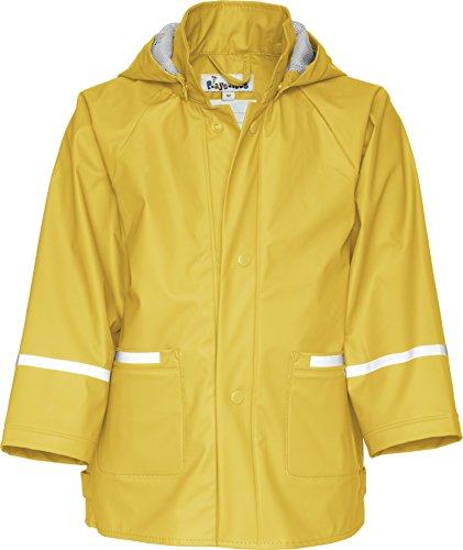 Playshoes Kinder Regenjacke mit abnehmbarer Kapuze, Regen-Mantel für Mädchen und Jungen