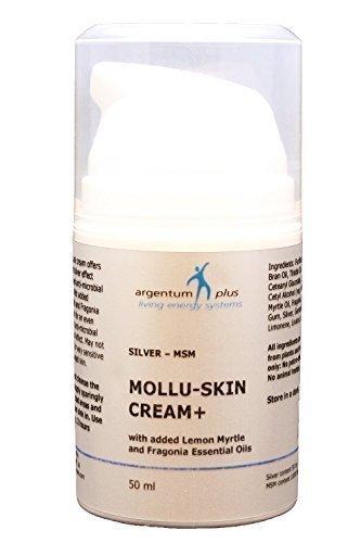argento-MSM Mollu-pelle Crema+ con olio essenziale di limone mirto 50 ml