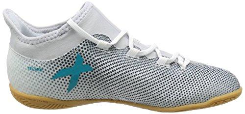 adidas X Tango 17.3 in J, Scarpe per Allenamento Calcio Bambino Blu (Footwear White/energy Blue/core Black)