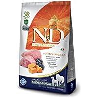 Farmina N/D Adult Medium/Maxi Grain Free 12 kg Agnello Zucca Mirtillo