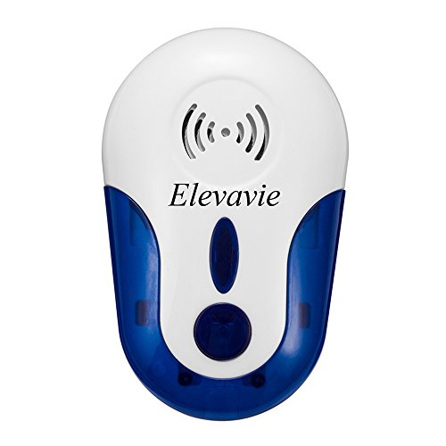 Elevavie elektronische Schädlingsbekämpfung Ultraschall-Pest Repellent - Elektronische Pest Repeller Kontrolle für Mäuse, Roaches, Spinnen, Mosquitos, Insekten, Bugs (Elektrische Bug Repeller)