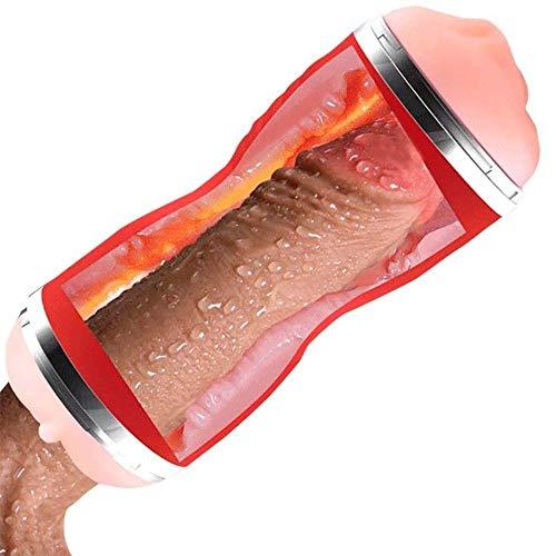 YTDJOSF Tubo d\'allenamento di spinta a pistone tascabile (design ergonomico, materiale in silicone di grado medico, ultra morbido e aderente)