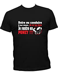 Polos à manches courtes à col rond Shirtinstyle homme