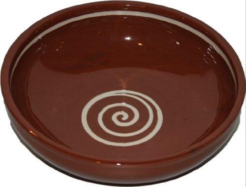 Amazing Cookware Bol Spirale 20 cm, Marron/crème