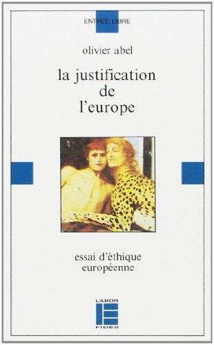 La justification de l'Europe par Olivier Abel