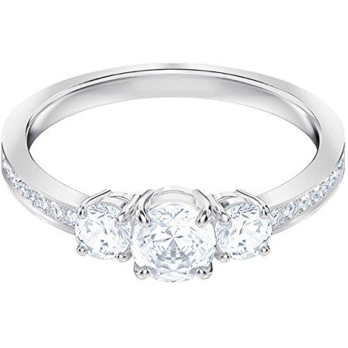 Swarovski Damen-Ringe Edelstahl Kristall \'- Ringgröße 60 5448897