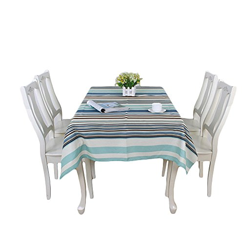 fan-tastik-waterproof-polyester-rectangular-oblong-tablecloth-table-cover-blue-striped-fits-table-fo