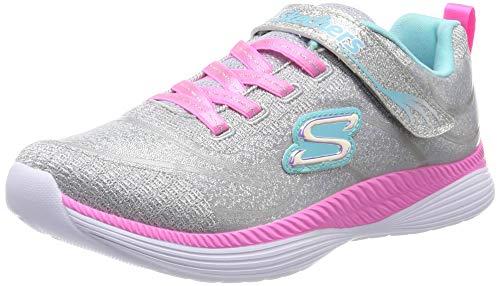 Skechers Mädchen Move 'n Groove Sneaker, Grau (Grey Mint Gymn), 30 EU (Boot Mädchen Sneaker)
