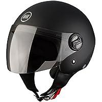 BHR Helm Demi-Jet, Schwarz, L