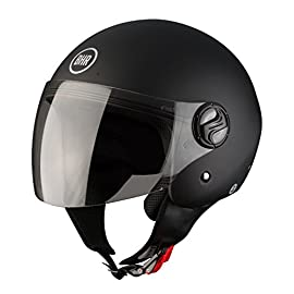 BHR  Casco, 704 Liberty, Nero Opaco,  S