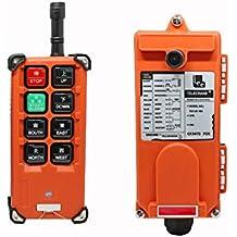 MXBAOHENG Elevación Grúa Mando a Distancia Inalámbrico f21e1b Transmisor y Receptor 220V Control Remoto Industrial de