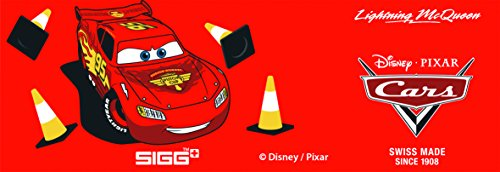 Image of Sigg Boy's Cars Lightning McQueen Bottle - Red, 0.3 Litre