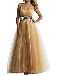 Diseño en forma de corazón de la Toscana de novia de tul vestido largo de noche