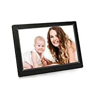 weiwei 10-inch digital photo frame,Hd electronic album Advertising machine-black