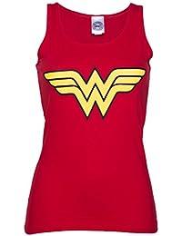 Dbardeur femme Wonder Woman Logo rouge