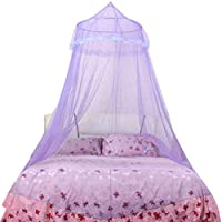 Zerama European Princess Dome Mosquito Net Ceiling Hanging Court Adult Baby Bedroom Double Bed Lace Canopy