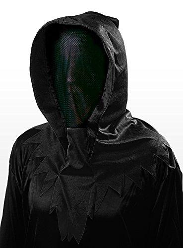 Unsichtbares schwarzes Phantom Maske (Machen Phantom Der Oper Kostüm)